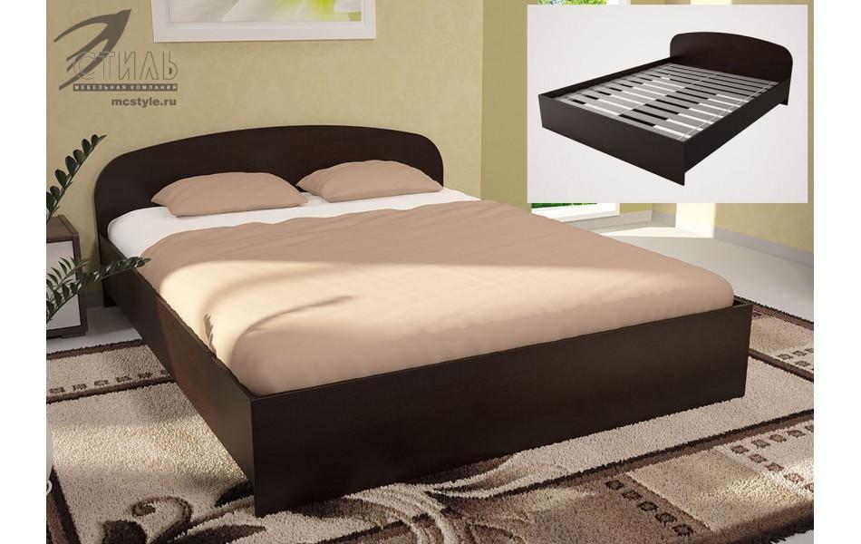 Кровать ЛДСП 1240 мм