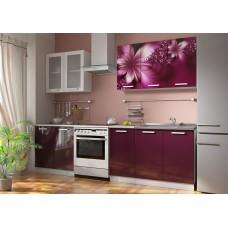 Кухонные гарнитуры «Роза» (МДФ, фотопечать) Вариант 4