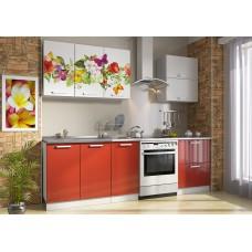Кухонные гарнитуры «Роза» (МДФ, фотопечать) Вариант 5