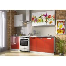 Кухонные гарнитуры «Роза» (МДФ, фотопечать) Вариант 6