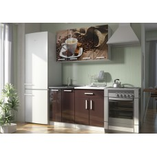 Кухонные гарнитуры «Роза» (МДФ, фотопечать) Вариант 7