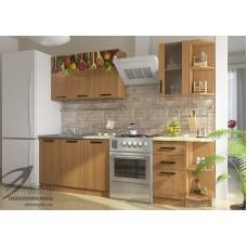 Кухонный гарнитур «Вика Специи» (ЛДСП, фотопечать)
