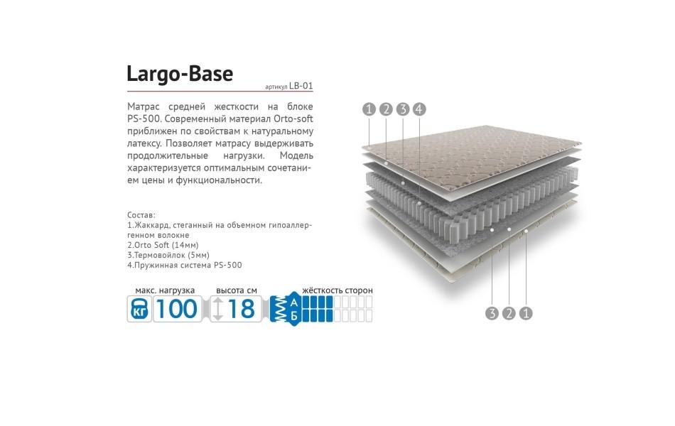 Матрас LARGO Base - S PS 500