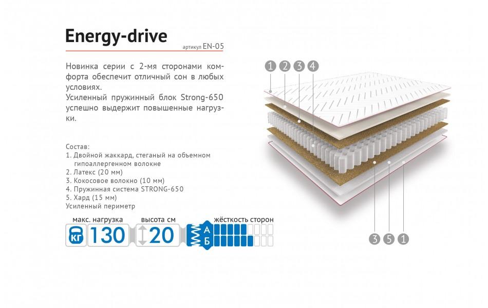 Матрас Energy-drive