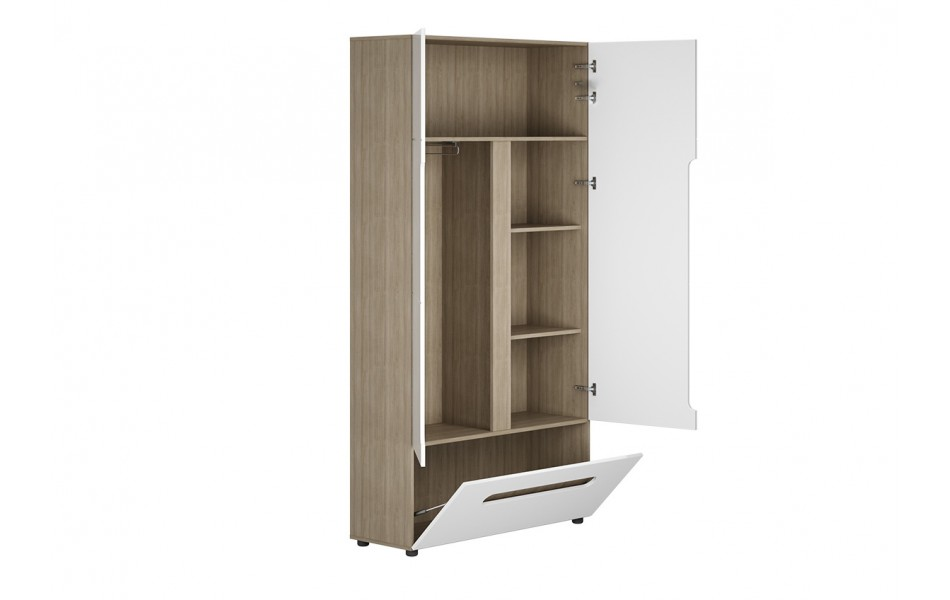 Шкаф двухстворчатый комбинированный «Палермо-3»