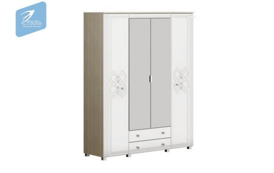 Шкаф четырехстворчатый 1700 «Амели»
