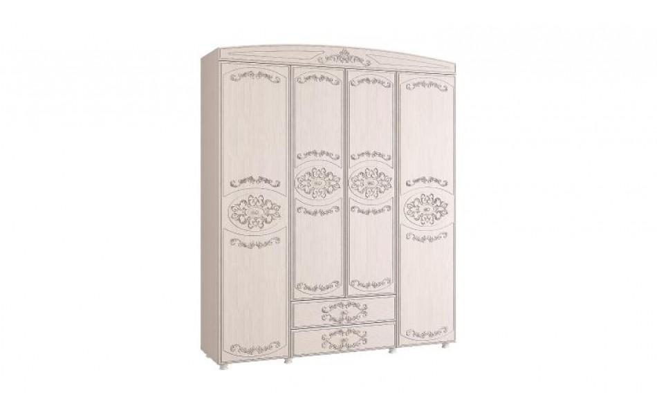 Шкаф четырехдверный «Каролина»