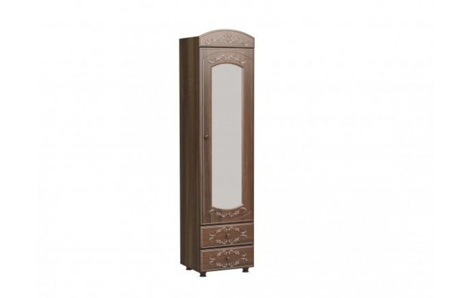Шкаф-пенал с зеркалом «Каролина»
