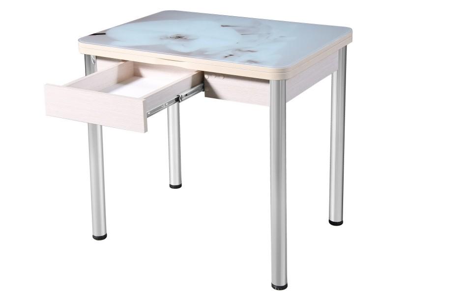 Стол не раздвижной «Ника» с ящиком